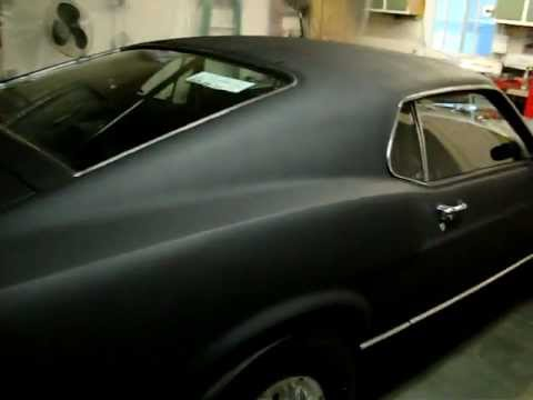 1970 Mach 1 Mustang In Primer Black Youtube