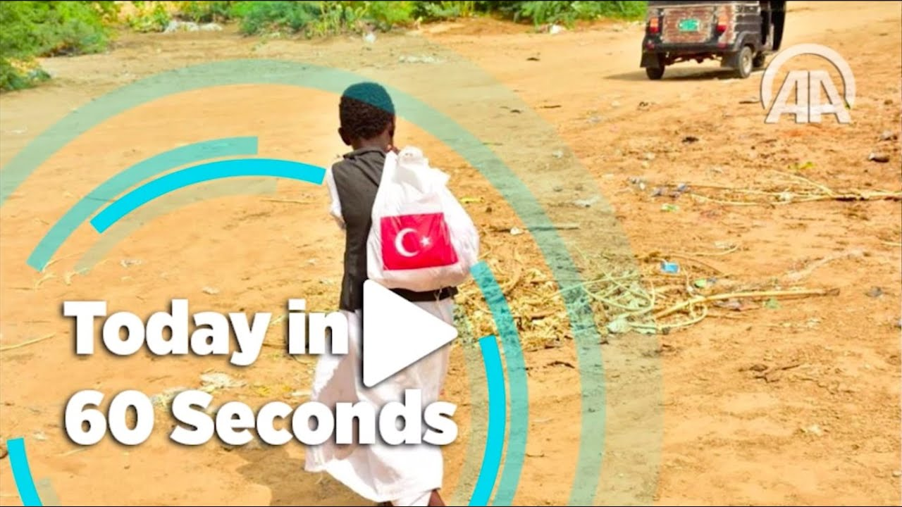 Today in 60 seconds ( August 4, 2020 ) - Anadolu Agency