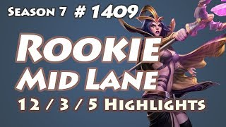 IG Rookie - LeBlanc vs Orianna - KR LOL Highlights | 루키 르블랑