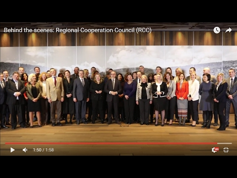 Behind the scenes: Regional Cooperation Council (RCC)