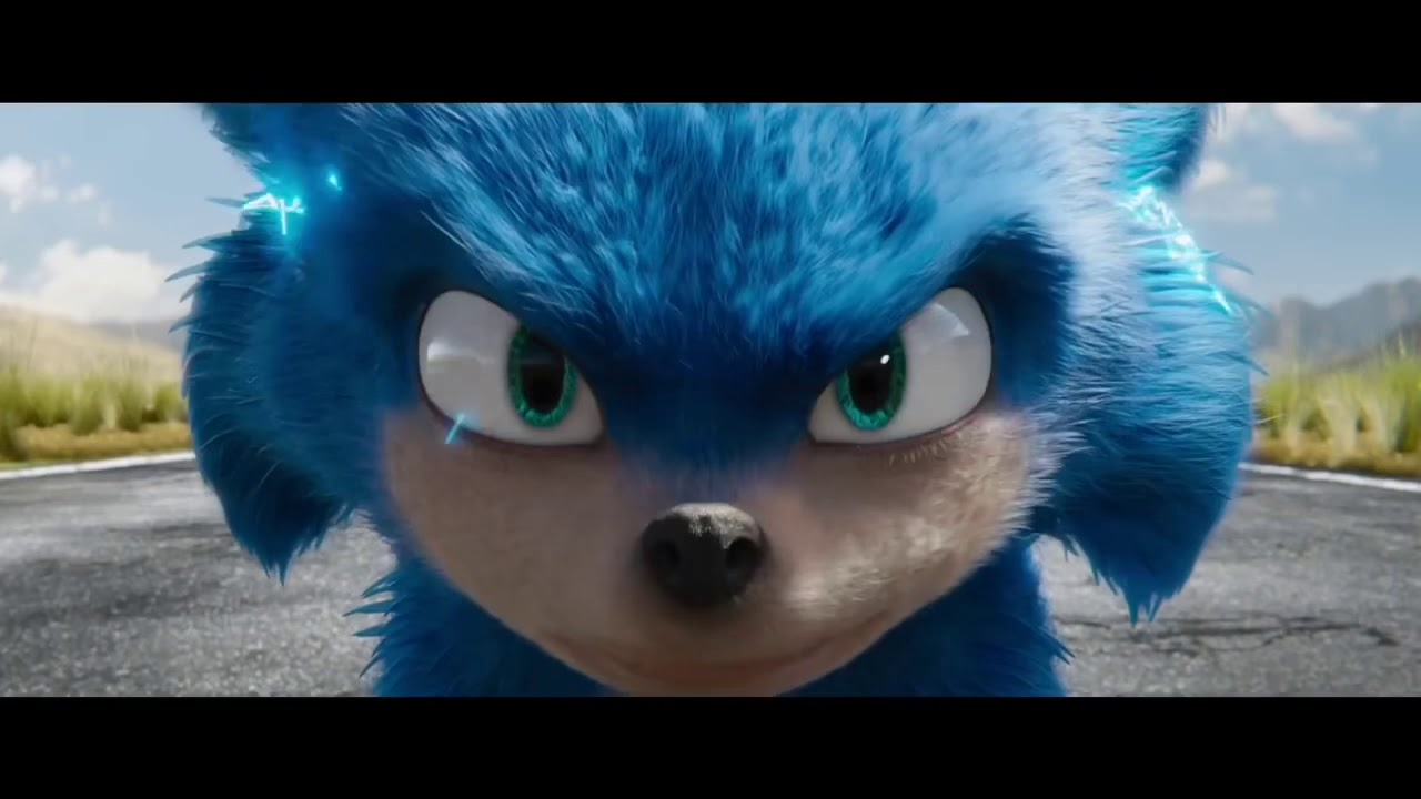 Sonic The Hedgehog Movie Trailer Sonic Says Gotta Go Fast For Ten Minutes Youtube