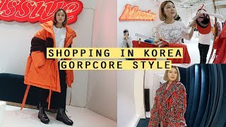 """Shopping In Korea: Gorpcore """"Ugly Pretty"""" Outfits At MAXXIJ 