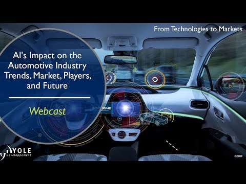 AI's Impact on the Automotive Industry: Trends, Market, Players, and Future - Webcast