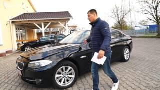 BMW 530D F10 из Германии.  Видео отчет