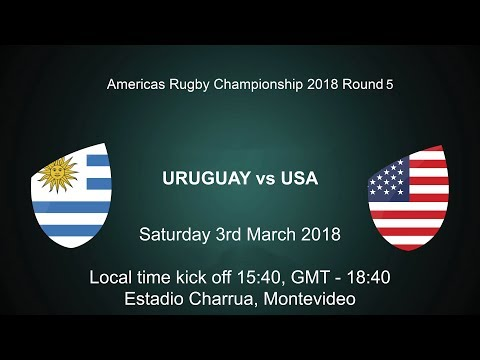 2018 Americas Rugby Championship - Uruguay v USA