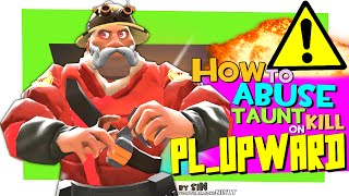 TF2: How to abuse taunt kill on pl_upward [FUN]