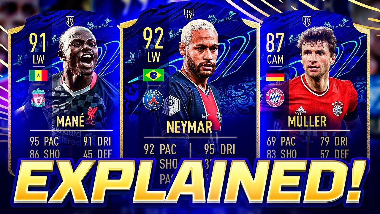 TOTY NOMINEES EXPLAINED! FIFA 21 - YouTube