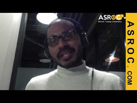 Abhimanyu Dayal CEO Estate Chain Blockchain at ASROC Conference