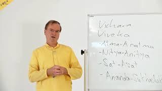 Die vier Vivekas - Vichara Meditation: Wo bin ich? - 4A Vedanta Meditation und Jnana Yoga
