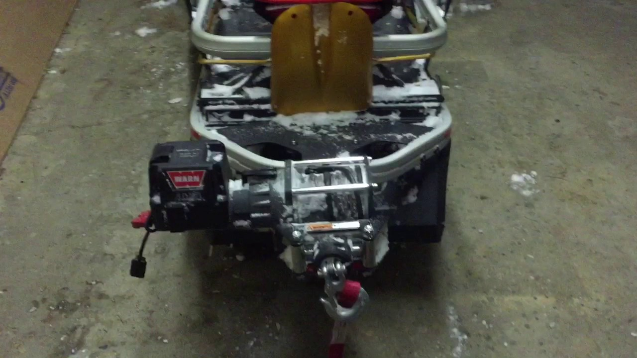 Winch Wiring Harness Skandic Auto Electrical Diagram Engo Skidoo Warn Youtube Rh Com Electric