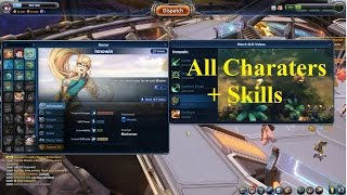 ( MXM ) Master X Master  - All Masters(characters) And their skills