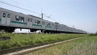 JR東日本(過去動画)203系、輸出のために新潟港へ回送