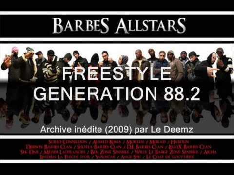 Freestyle radio inédit Barbès All Stars Crew