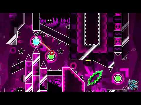 Geometry Dash - Retention By WOOGI1411 (Demon) Complete + 3 Coins (Live)