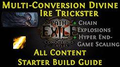[PoE] [Guide] Divine Ire Trickster 3.10 Delirium #StarterBuild | Multi-Conversion!!!