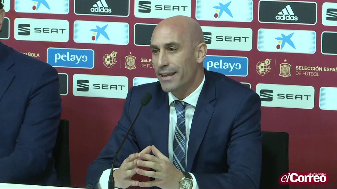 Rubiales le devuelve el mando de la selección a Luis Enrique