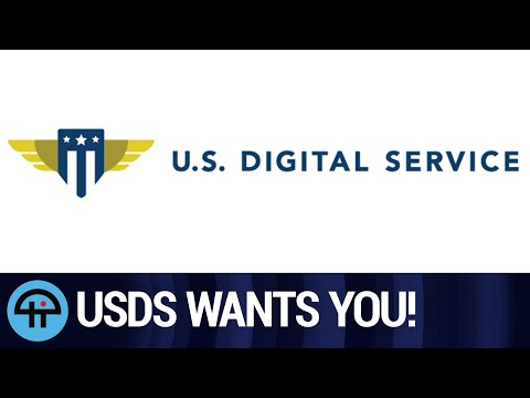 Need a Job? The US Digital Service is Hiring!