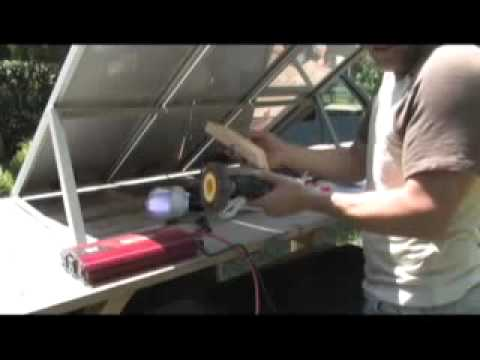 PV PHOTOVOLTAIC HARBOR FREIGHT SOLAR ENERGY SOLAR PANEL KITS.flv