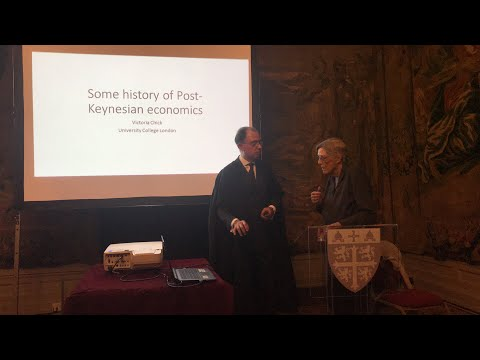 Victoria Chick - Some History of Post-Keynesian Economics