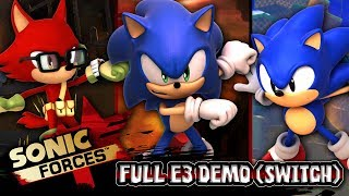 Sonic Forces FULL E3 DEMO First Impressions w/Cobanermani456