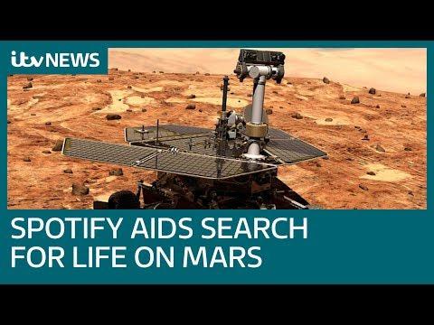 Life On Mars? Nasa pump Spotify playlist as they bid to wake up Mars rover | ITV News