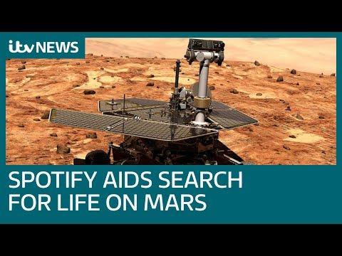 Life On Mars? Why Nasa are trying to wake up a Mars rover using Spotify | ITV News
