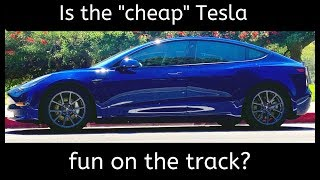 Tesla Model 3 on Track! - One Take