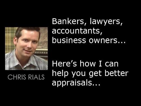 Chris Rials, Master Certified Machinery & Equipment Appraiser