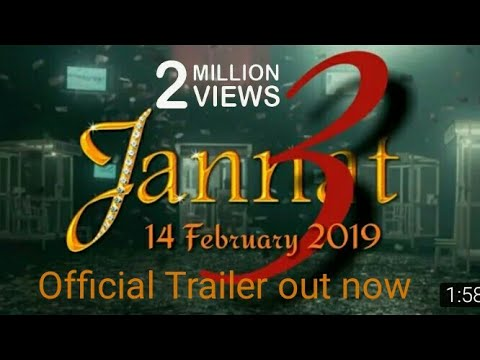 jannat 3 | Official Theatrical Trailer Out Now | Shahid kapoor | vishesh films - fan made trailer