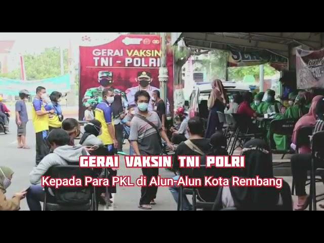 GERAI VAKSIN TNI - POLRI