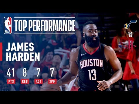 James Harden Does It All in Game 1 Victory Vs. Jazz