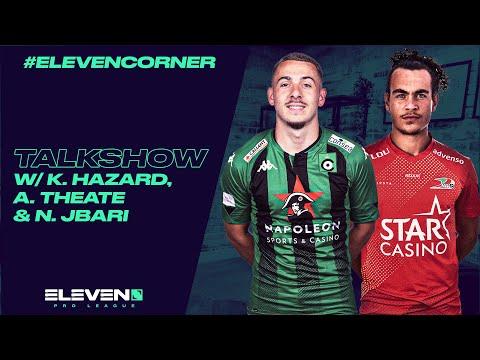 #ElevenCorner avec Kylian Hazard, Arthur Theate & Nordin Jbari (29/10)