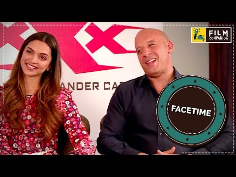 Vin Diesel & Deepika Padukone Interview | Face Time
