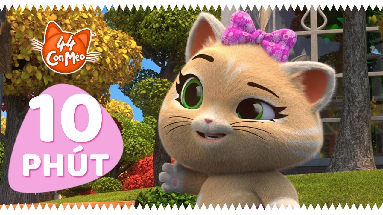 44 Con Mèo | 10 phút với Pilou