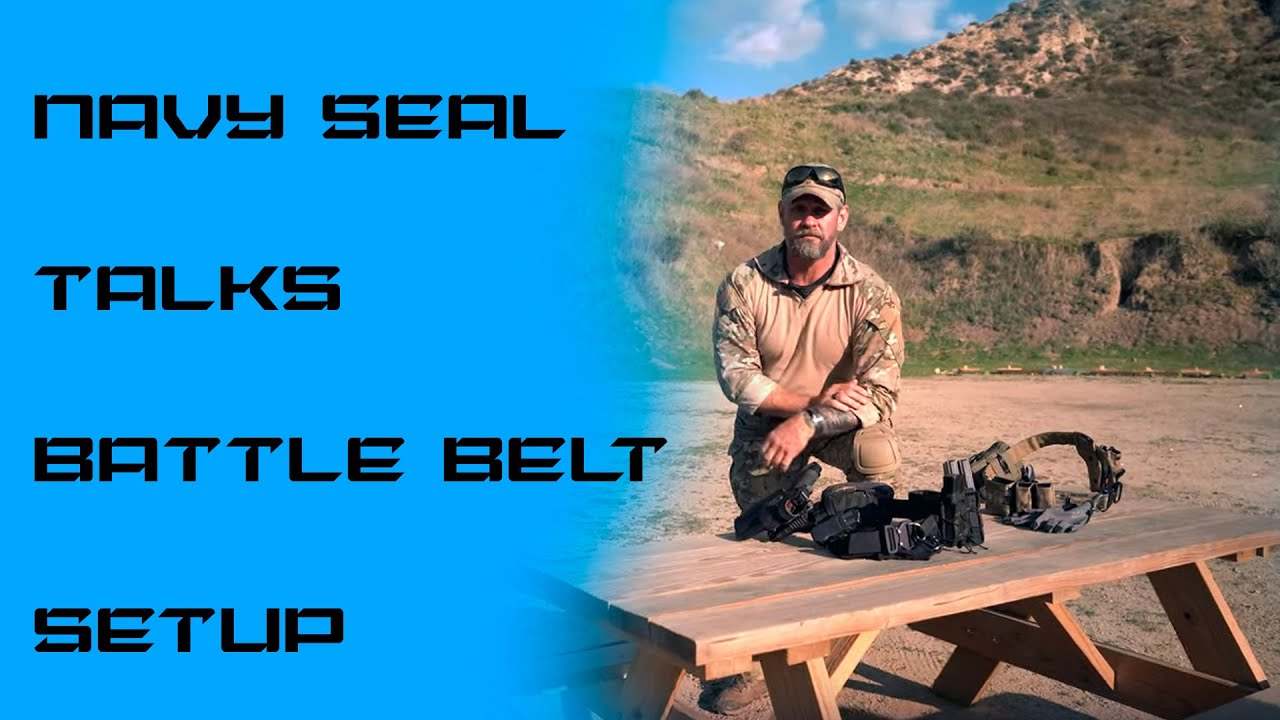 Battle Belt Setup I Navy SEAL Jason Pike