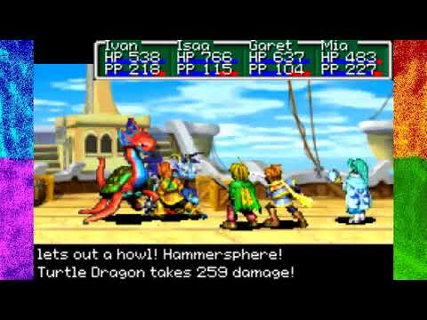 Golden Sun- The Lost Age: [47] Off the Map - YouTube