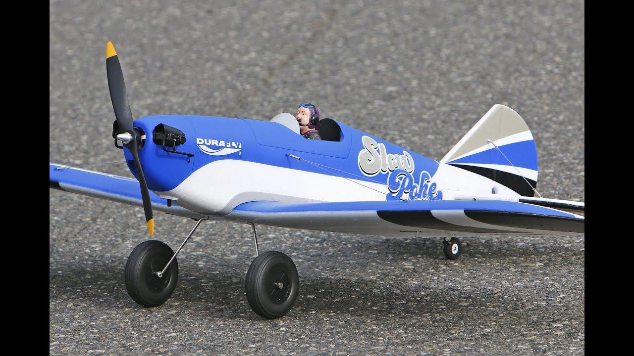 Durafly SLOWPOKE 1200mm Maiden flight! From HobbyKing ...