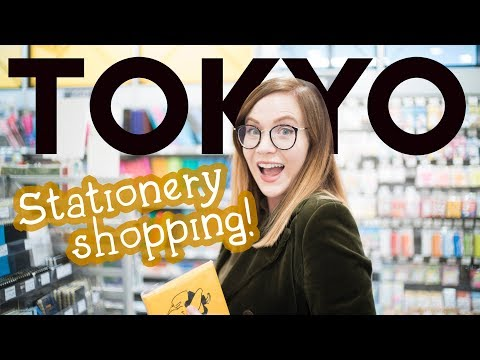Come STATIONERY SHOPPING IN TOKYO with me!