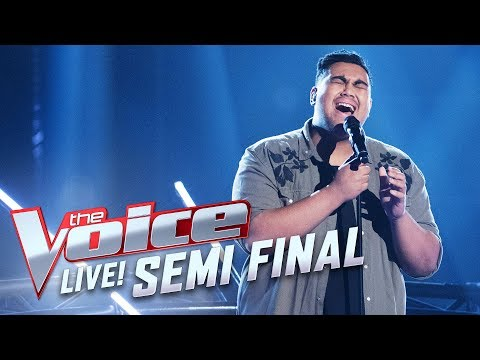 Hoseah Partsch - 'I Wanna Dance With Somebody' | The Voice Australia 2017