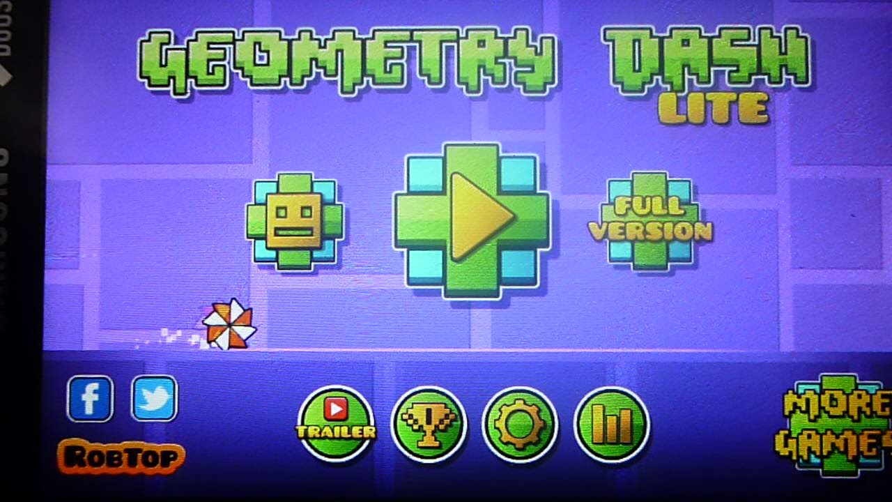 Игра на андроид geometry dash lite