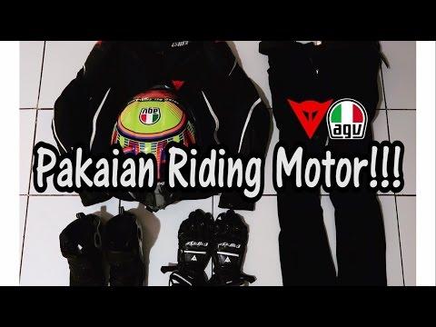 #236 Pakaian Riding Motor Gue!!!