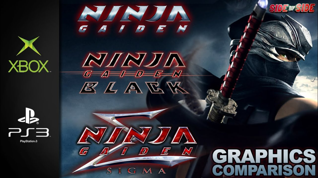 Ninja Gaiden Black Sigma Graphics Comparison Xbox Ps3