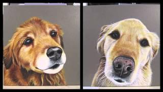 Pet Portrait - Sandy & Chansey - By Robyn Millar