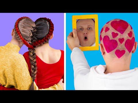 13 Trucos De Belleza Fciles / Ideas De Peinados y Maquillaje Para San Valentn