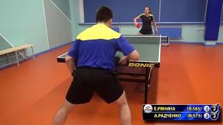 РЯНИНА - РАДЧЕНКО #RUSSIAN #Championships #tabletennis #настольныйтеннис
