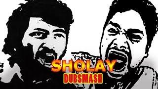 Sholay Dubsmash | Dubsmash Bollywood | funny dubsmash videos | Kitne Aadmi The Sholay Dialogue