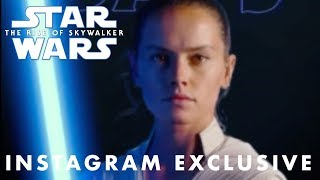 Star Wars The Rise of Skywalker In IX Days Exclusive Instagram Teaser