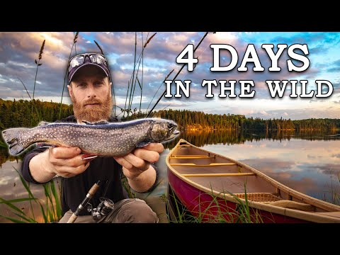 4 DAYS BUSHCRAFT In The WILD! | The Journey To 'PUDDLE LAKE'