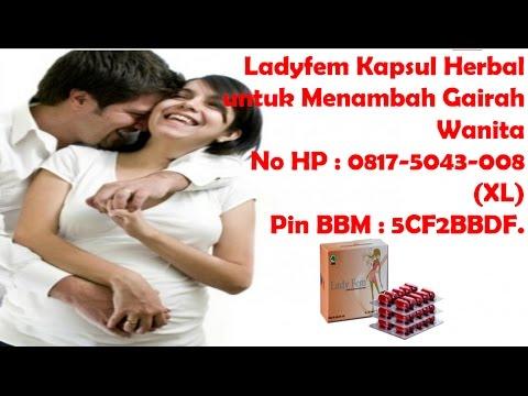 Ladyfem Kapsul Herbal untuk Menambah Gairah Wanita