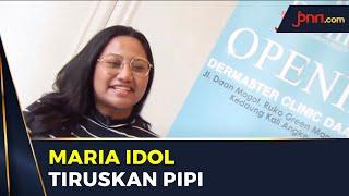 Berat Badan Naik 7 Kg, Maria Simorangkir Tiruskan Pipi - JPNN.com
